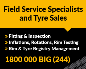 Tyre Field Service Specialists -Big Tyres